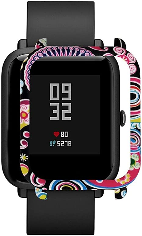 Smart Watch protect case cover,RTYou New Style PC Case Cover Protect Shell For Xiaomi Huami Amazfit Bip Youth Watch (C)