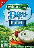 Hidden Valley Dips Mix - Original Ranch - 1 oz - 4 Count