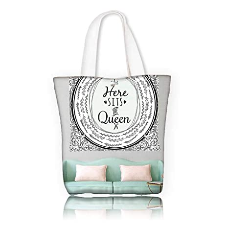 Amazon.com  Women s Canvas Tote Bag -W22 x H15.7 x D7 INCH work ... c85f1f57d3