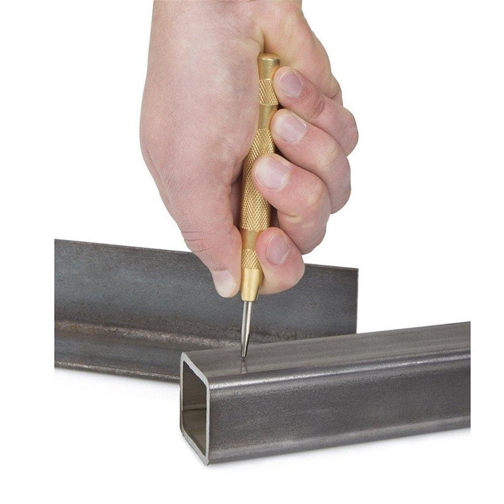 Hiyi 12,7/cm Automatic Center pin punch caricato a molla marcatura partire fori strumento 130/mm
