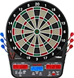 Viper 850 Electronic Dartboard, Ultra Bright Triple Score Display, 50 Games with 470 Scoring Variations, Target-Tested-Tough Segments Made from High Grade Nylon, Includes 6 Darts