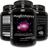 ★ MagEnhance Best Magnesium Supplement ★ Magnesium-L-Threonate Complex ★ With Magnesium Glycinate and Taurate ★ Brain, Heart, Sleep, Memory and Fibromyalgia ★ 100% Money Back Guarantee! ★ Vitamin Magnesium