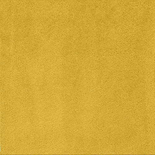 COFTY Super Soft Matt Luxury Velvet Curtain Drape Yellow 50Wx84L Inch(set of 2 panels) - Nickle Grommet - BIRKIN Collection Classroom| Theater| Bedroom| Living Room| Hotel by COFTY (Image #1)