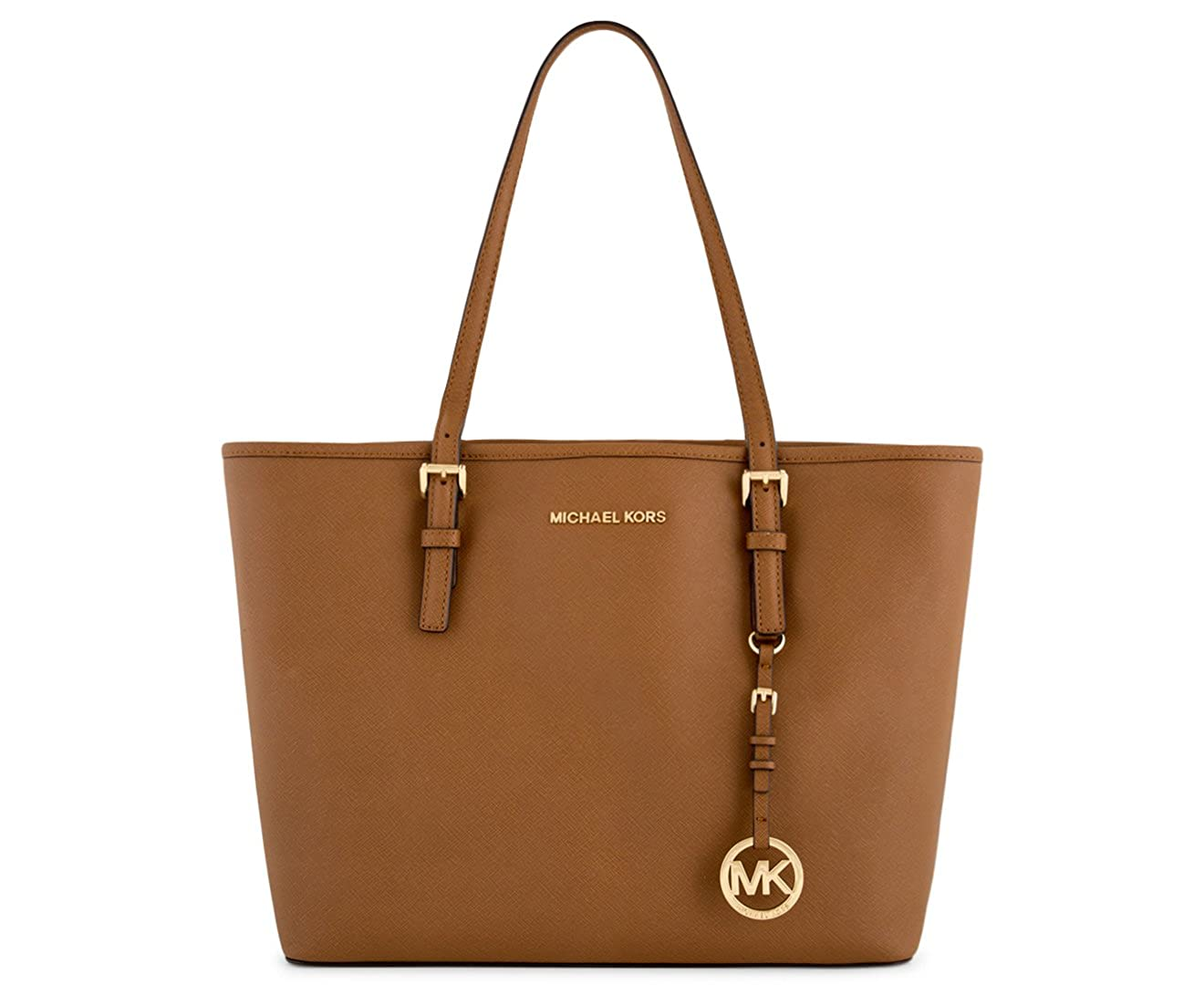 7234f3e3d861 MICHAEL Michael Kors Jet Set Travel Medium Carryall Tote Saffiano Leather -  Luggage