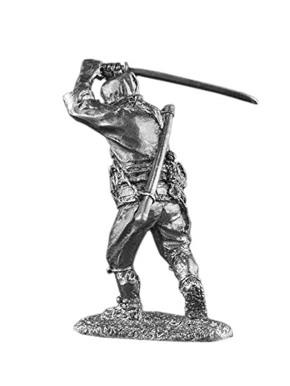 Amazon.com: Japanese Ninja Samurai Sword Attack UnPainted ...