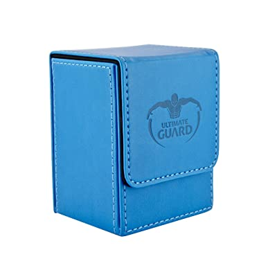 Ultimate Guard Leather Deck Box – Blue: Toys & Games