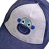 Kids Infant Cute Monkey/Stars Cotton Baseball