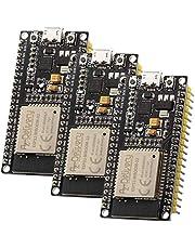 AZDelivery 3 x ESP32 NodeMCU Module WLAN WiFi Development Board met CP2102 (opvolger van ESP8266) compatibel met Arduino Inclusief E-Book!