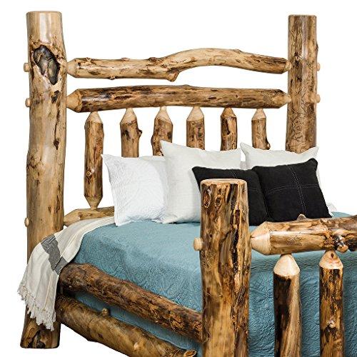King Aspen Log Bed - 9