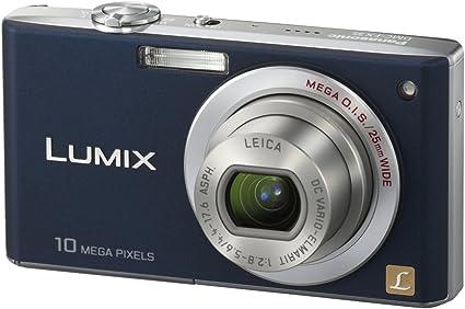 Panasonic Dmc Fx 35 Eg A Digitalkamera Nachtblau Kamera