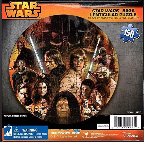 Friends Lenticular Puzzles - World of Star Wars Circle of Friends 150 Piece Lenticular Puzzle