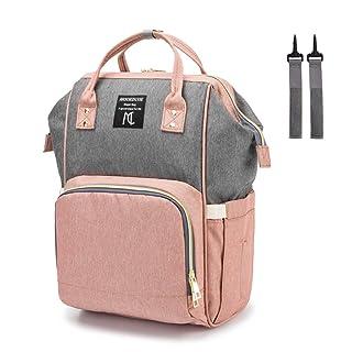 Diaper Bag Backpack,Mooedcoe Multifunction Travel Back Pack,Maternity Nappy Bag