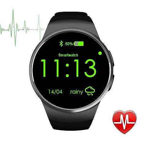 DongAshley Relojes Baratos Presiona Bluetooth Reloj De Teléfono Inteligente Memoria Sedentaria & Cámara Remota & Podómetro