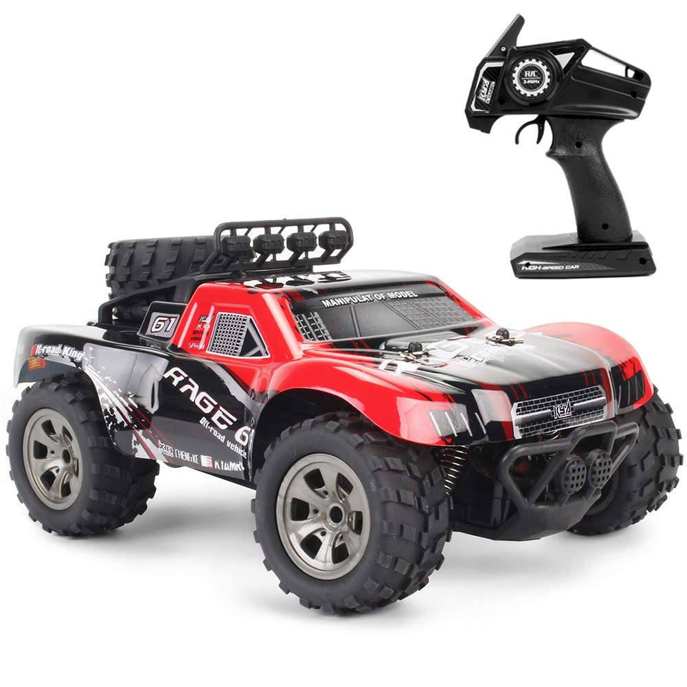 Amazon com: EISHOW 1:18 RC Car RTR High Speed Racing Monster