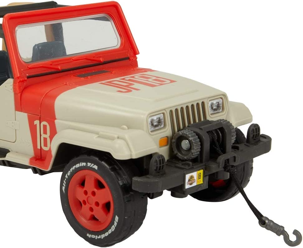 Jurassic World GCV78 Deluxe Story Pack Off-Road Tracker ATV Multicolour
