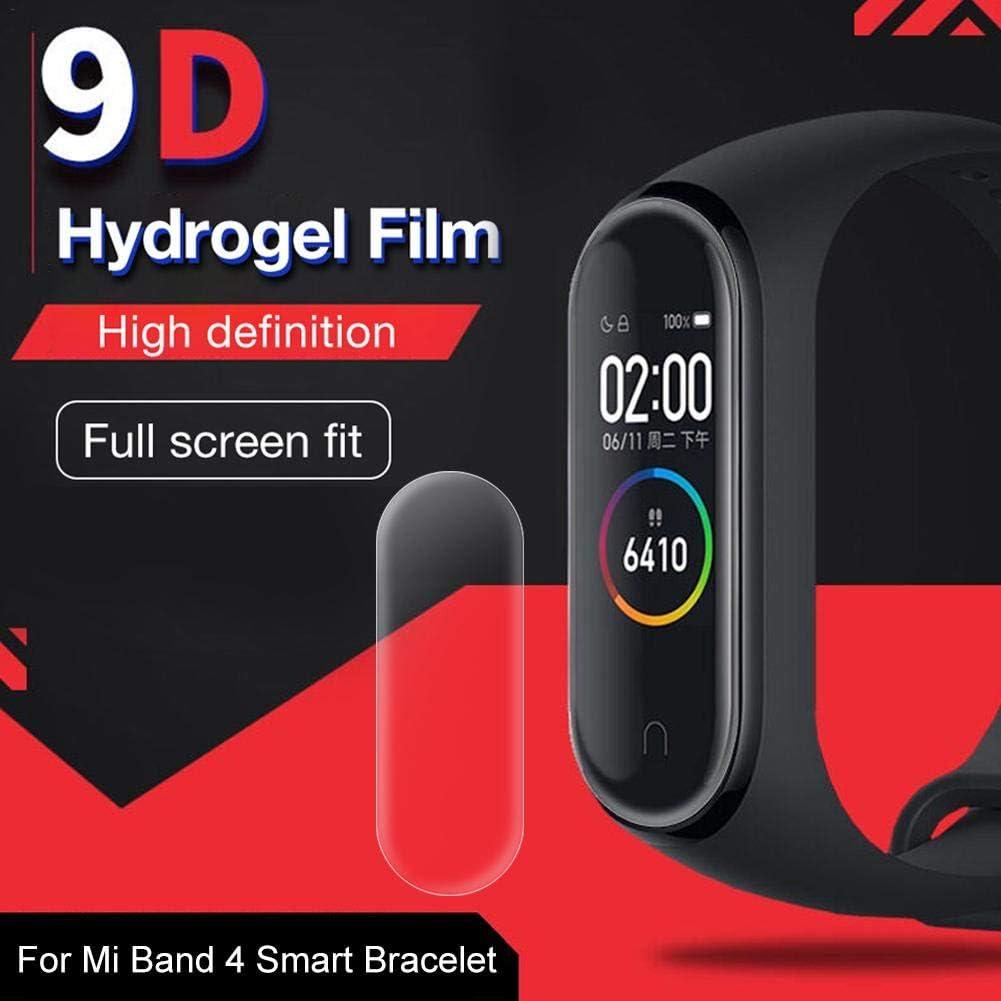 Mi Band 4 - Protector de Pantalla HD (Cristal Templado, antirreflectante, reparador automático para Mi Band 4): Amazon.es: Electrónica