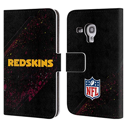 Official NFL Blur Washington Redskins Logo Leather Book Wallet Case Cover For Samsung Galaxy S3 III