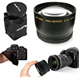 I3ePro 58mm 2.2X TELEPHOTO Lens Attachment for all 58mm Lenses