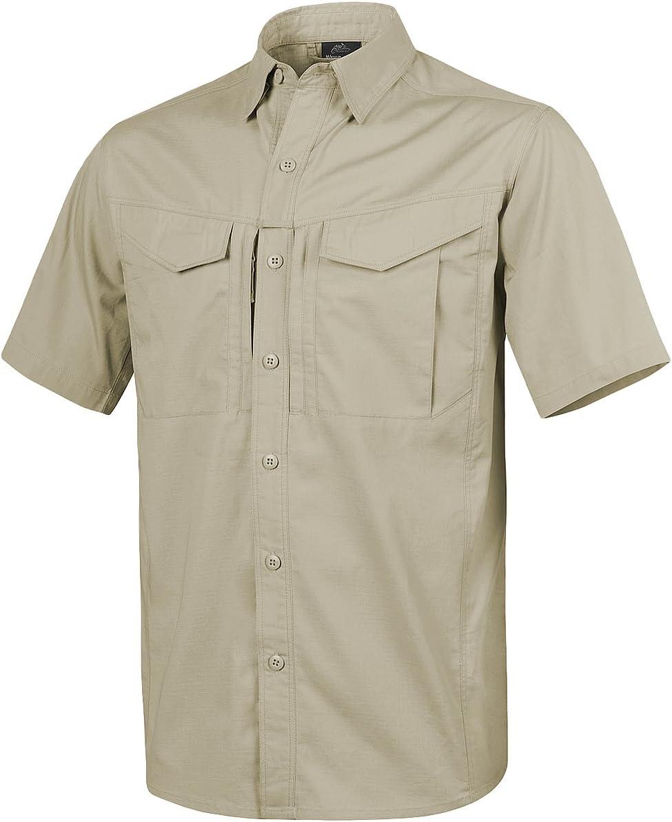 Helikon Hombre Defender Mk2 Manga Corta Camiseta Caqui: Amazon.es: Ropa y accesorios