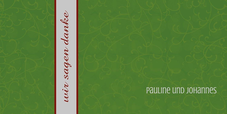 Kartenparadies Danksagung für Hochzeitsgeschenke Dankeskarte Für Für Für immer, hochwertige Danksagungskarte Hochzeitsglückwünsche inklusive Umschläge   20 Karten - (Format  215x105 mm) Farbe  MatschgruenDunkel B01NAVS2AV | Angenehmes Aus da6f16