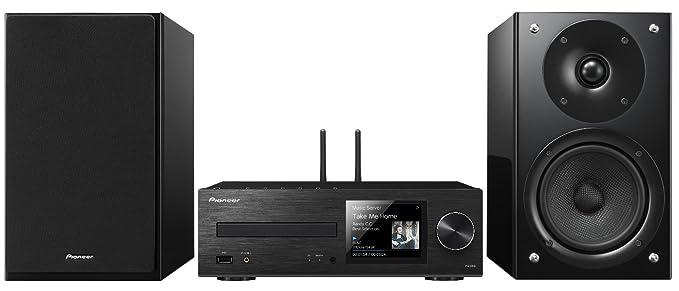 Pioneer X-HM86D-B - Sistema Hight Micro (Amplificador Clase D, Reproductor de CD, sintonizador Dab), Color Negro: Amazon.es: Electrónica