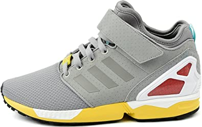 e08cc1df3 adidas - Hi Tops - ZX Flux NPS Mid Shoes - Light Onix - 7  Amazon.co ...