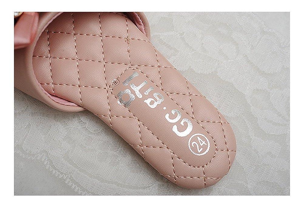 Always Pretty Little Girls Cute Slide Sandal Summer Slippers Flats with Flower AP7051203