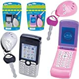 Lets Go Set: Play Cell Phone and Play Car Key Alarm (Color May Vary)