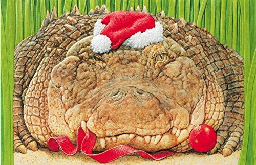 Alligator Christmas Cards - 5