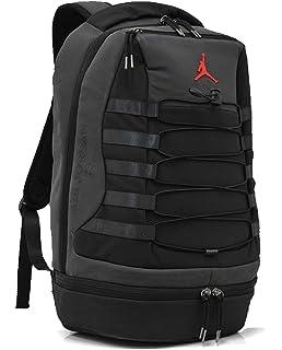 90def998a17 Amazon.com | Nike Air Jordan Retro 6 Backpack (One Size, Black ...