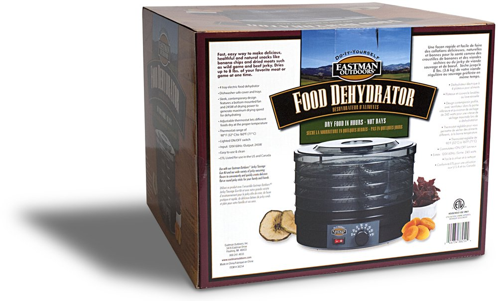 Eastman Outdoors 38254 Food Dehydrator, 245-watt by Eastman Outdoors (Image #3)