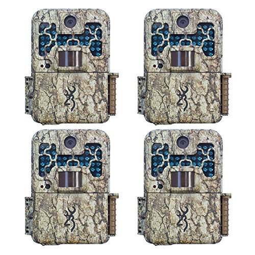 (4) Browning Recon Force FHD Digital Trail Game Camera (10MP) - BTC7FHD by...