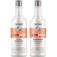 Inoar Kit Shampoo e Condicionador Cicatripontas LT, Inoar
