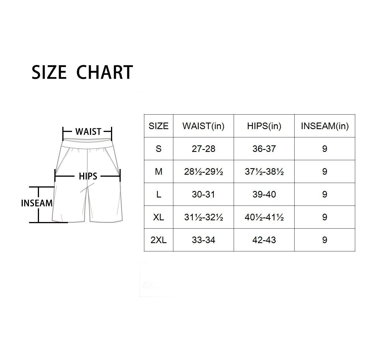 Baleaf Women's 9'' Long Board Short with Built-in Liner (Back Elastic Waistband) Navy Size XL by Baleaf (Image #7)