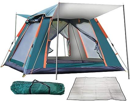 QYY Tienda de campaña emergente instantánea Camping Familiar ...