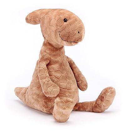 Amazon Com Jellycat Patrick Parasaurolophus Dinosaur Stuffed Animal