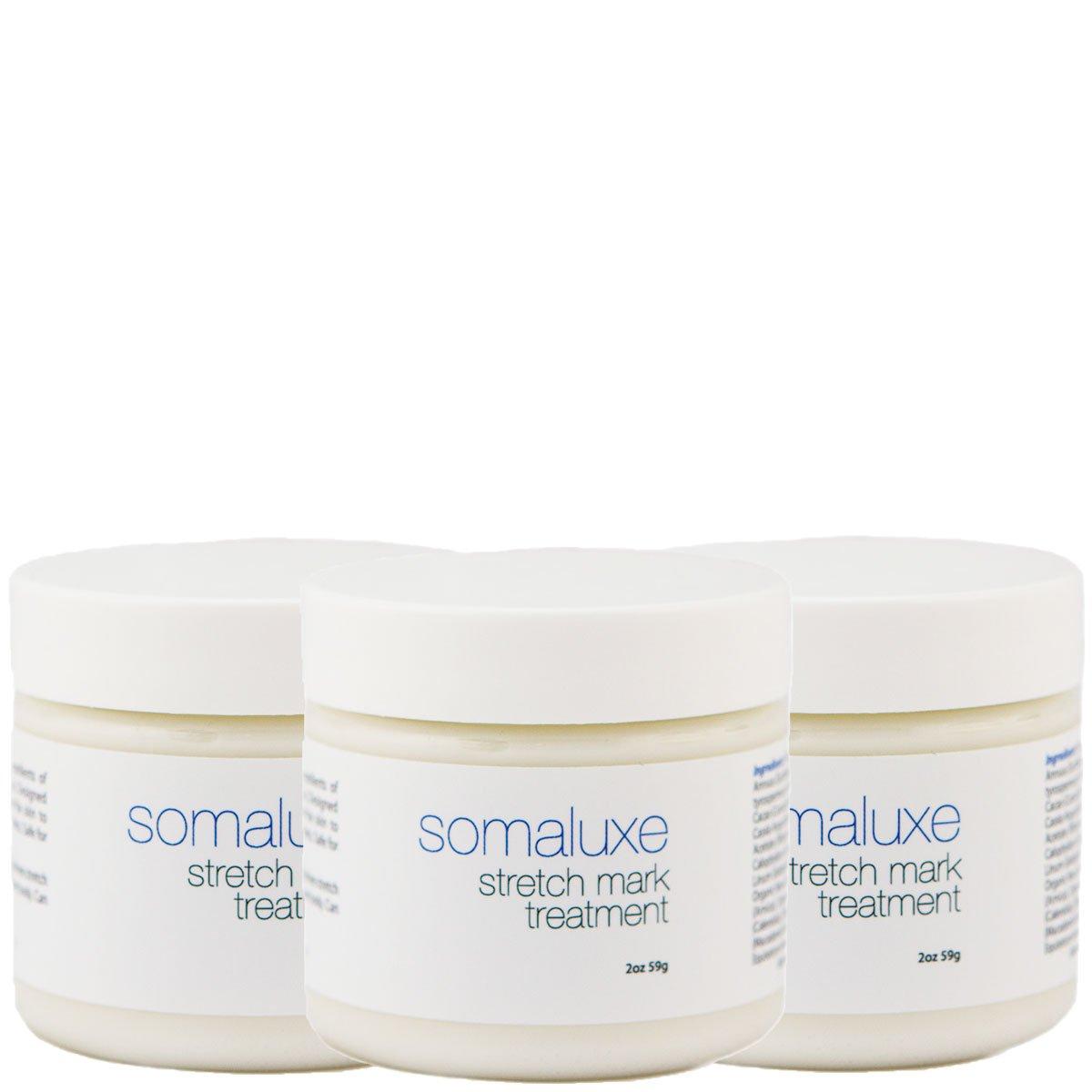 Organic Stretch Mark Cream - Safe for Pregnant Women, 2oz (3 Pack)