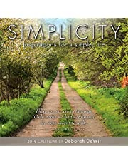 2019 Simplicity — Inspiration for a Simpler Life Mini Calendar: by Sellers Publishing, 7x7 (CS-0470)