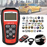 Car OBD2 Scanner, Auto Engine Light Code Reader Diagnostic Scan Tool, kiwitatá CAN Computer Error Codes Erase Clear Reset for Toyota Ford Benz GM BMW Nissan All OBD2 Protocol Cars Since 1996