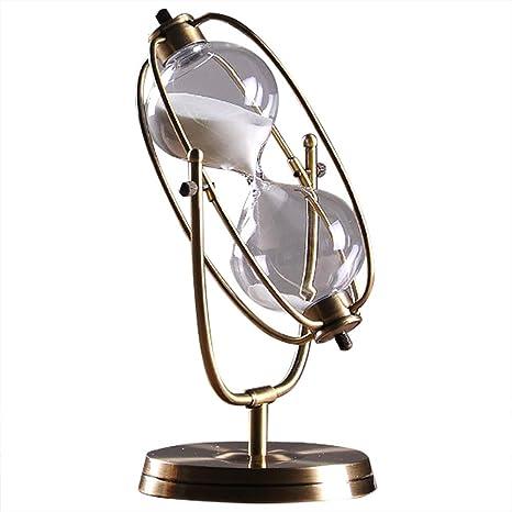 Reloj De Arena 1 hora Decoración, Temporizador Transparente Reloj De Navidad Decoracion Cumpleaños De Vidrio