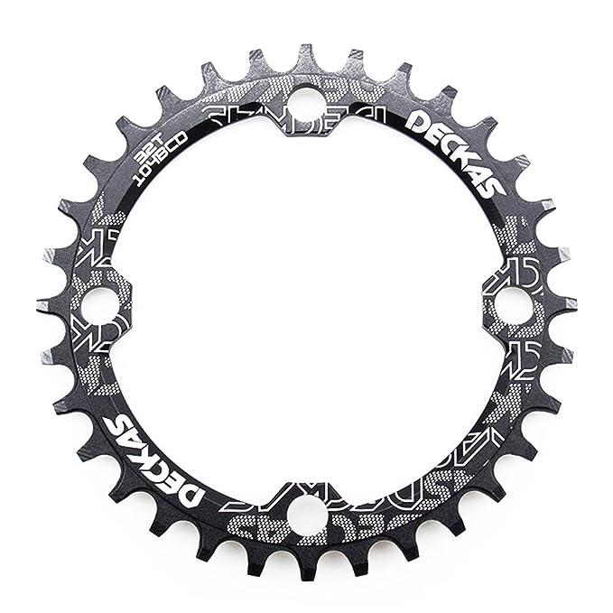 zeker HemeraPhit Mountain Bike Single Chainring Aluminum Narrow Wide Chainwheel BCD 104mm 32T 34T 36T 38T Repair Bicycle Parts