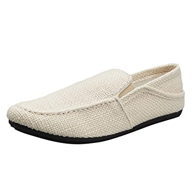 Men/'s Casual Loafers Flat Shoes Driving Peas Lazy Moccasins Comfy Slip on Flats
