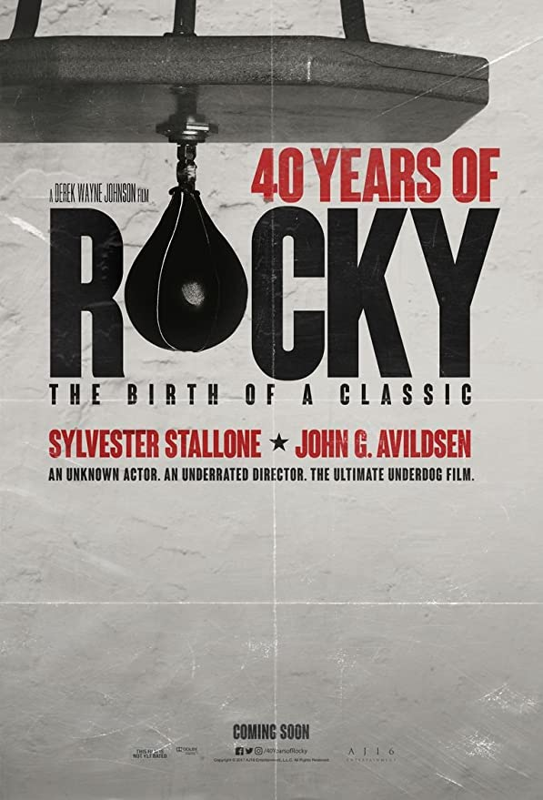 Amazon.com: 40 Years of Rocky The Birth of A Classic Movie Poster 18 x 28  inches: Posters & Prints