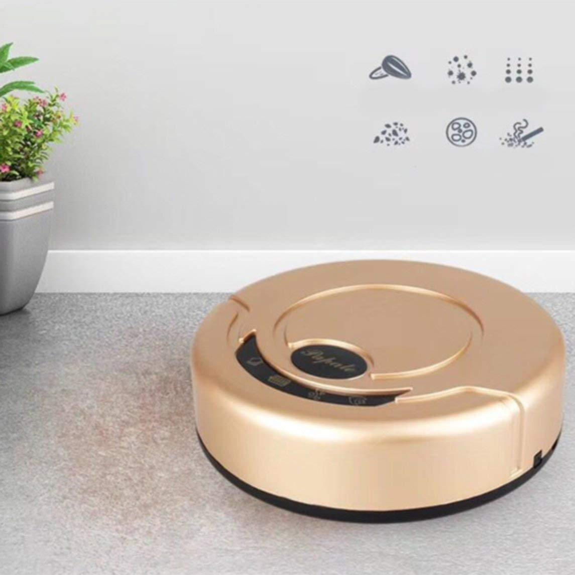 Mini Intelligent Robotic Vacuum Cleaner Automatic Mini Sweeping Machine by Magicalworld (Image #5)