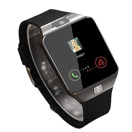 JohnJohnsen Ver Inteligentes Dz09 Plata Relojes SmartWatch ...