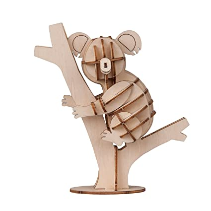Toys & Hobbies Puzzles & Games Imported From Abroad Fashion Cartoon Animal Baby Toys Owl Model 3d Puzzles Wooden Puzzles Children Learning Educational Toys Kids Handmade Diy Toys