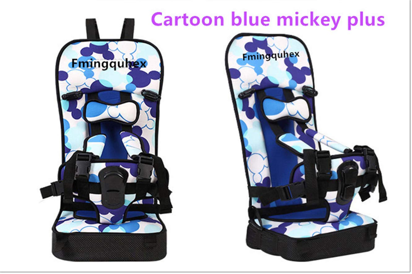 Baby Fmingquhex Convertible Car Seat, Simple Dot Minnie (Cartoon Mickey Blue, Bigger Size-Plus)