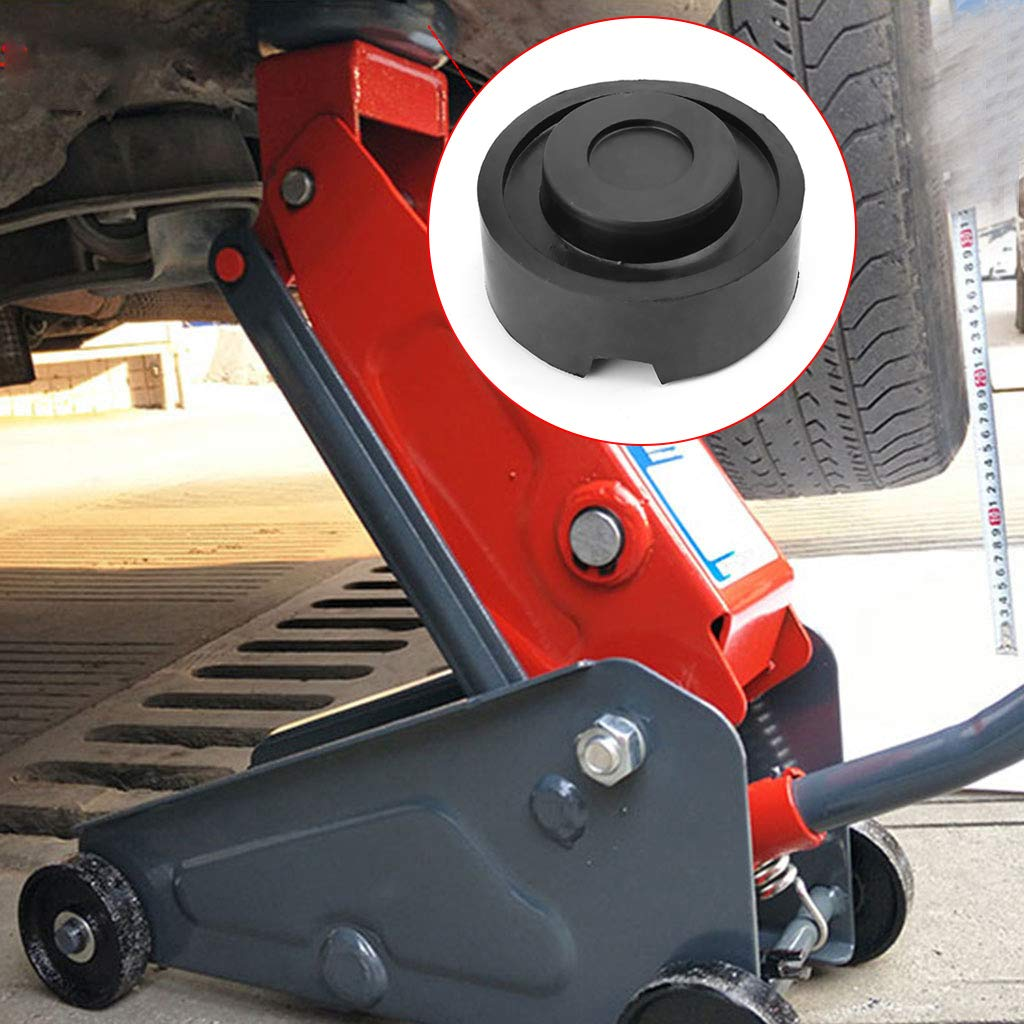 Xuniu Car Black Jack Rubber Pad Anti-slip Rail Adapter Support Block Heavy Duty For Car Lift