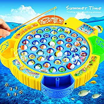 Takestop® - La pesca loca, juego de mesa para niños con 45 peces y ...