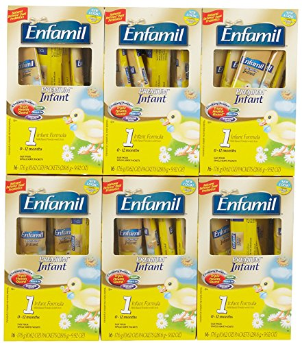 Enfamil Infant Baby Formula - Powder Sticks - 9.92 oz - 6 pk by Enfamil (Image #1)